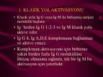 1 klas k yol akt vasyonu