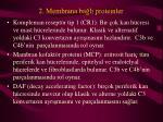 2 membrana ba l proteinler