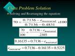 class problem solution30