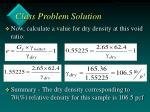 class problem solution31