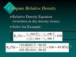 compute relative density19