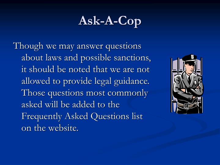 Ask-A-Cop