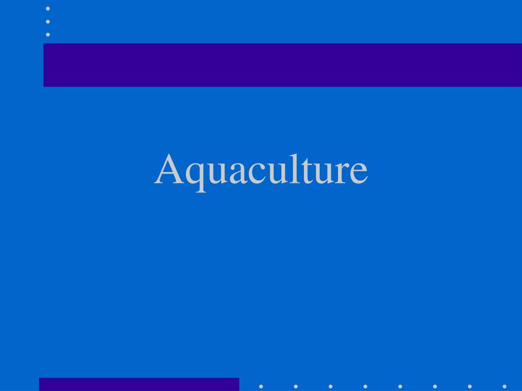 aquaculture l.