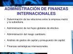 administraci n de finanzas internacionales