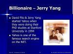 billionaire jerry yang