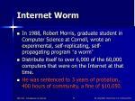 internet worm