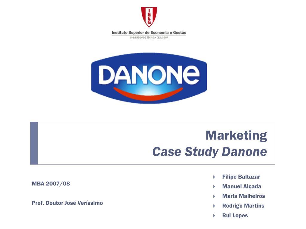 mba marketing case study