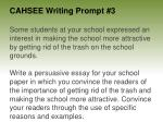 cahsee writing prompt 3
