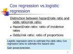 cox regression vs logistic regression4