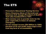 the ets