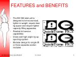 features and benefits9