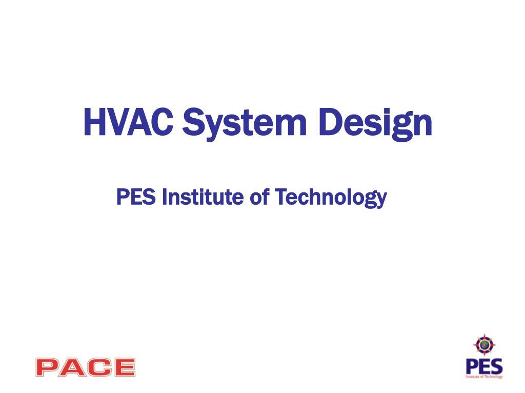 hvac system design l.