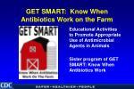 get smart know when antibiotics work on the farm