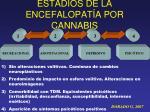 estadios de la encefalopat a por cannabis