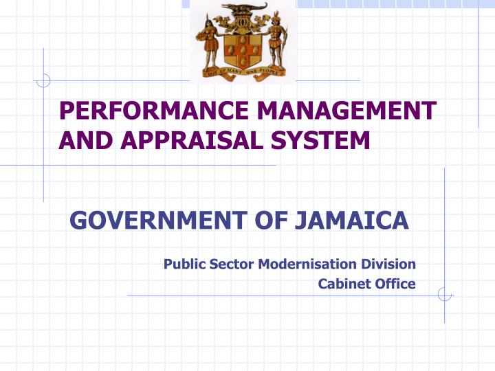 performance management and appraisal system n.