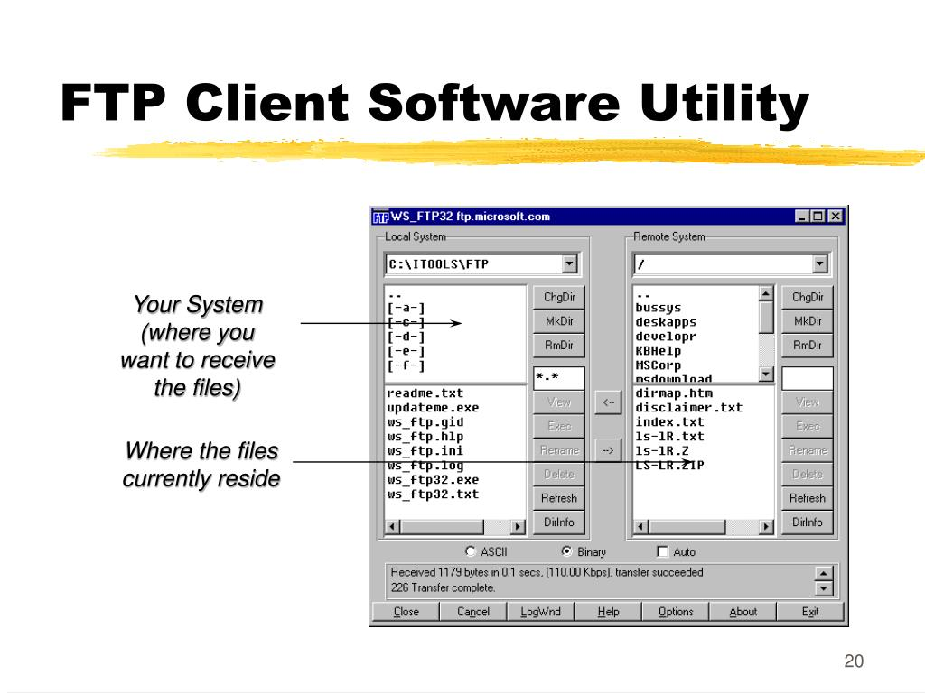 FTP Client Software Utility