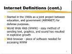 internet definitions cont
