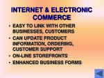 internet electronic commerce