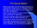 the social match