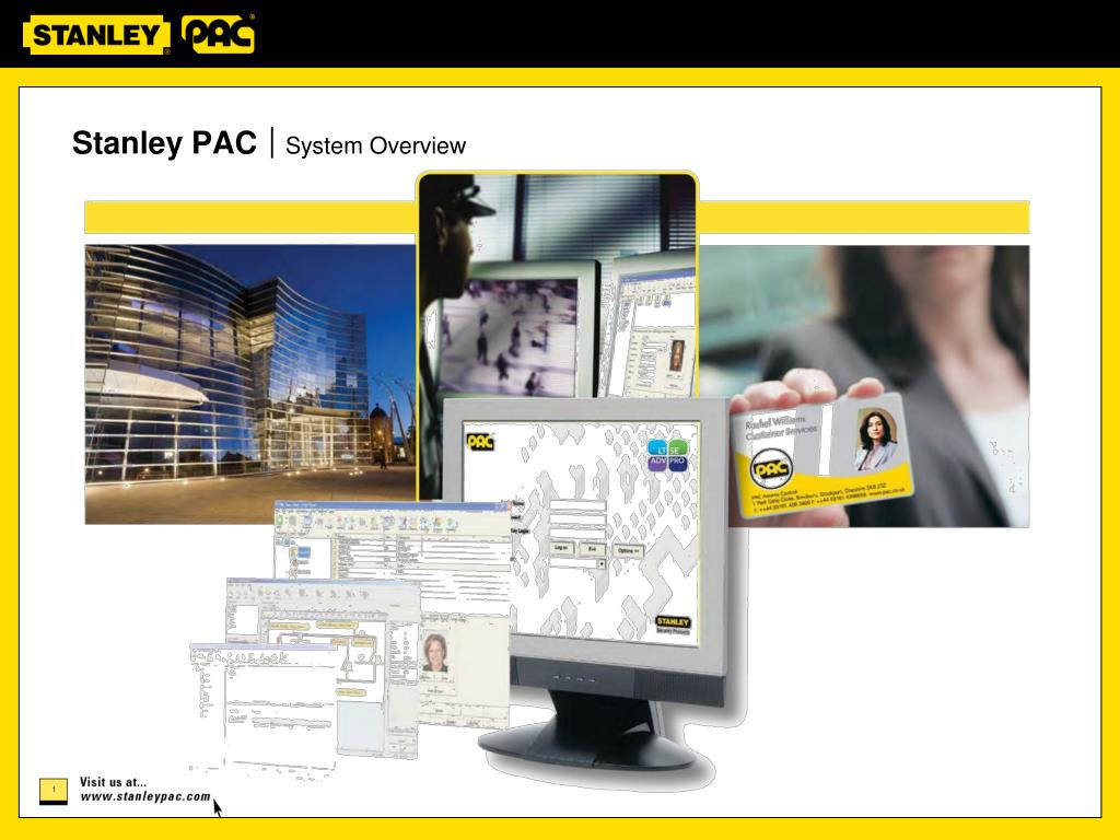 stanley pac system overview l.