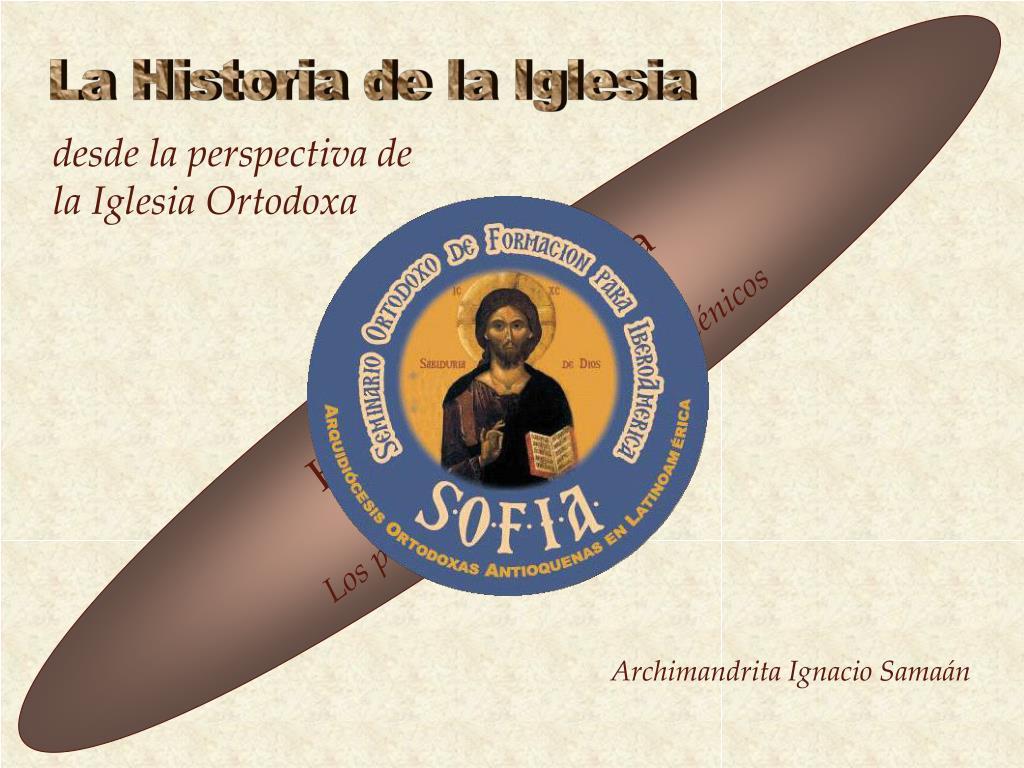 desde la perspectiva de la iglesia ortodoxa l.