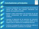 conclusiones principales28