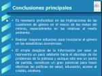 conclusiones principales57