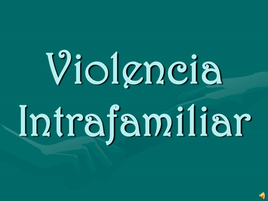 violencia intrafamiliar l.
