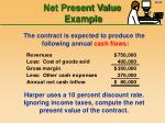 net present value example34