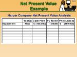 net present value example35
