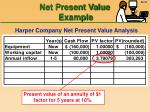 net present value example37