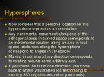 hyperspheres34