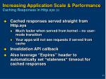 increasing application scale performance caching responses in http sys 2