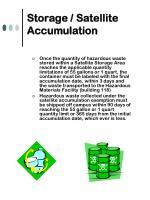 storage satellite accumulation19