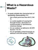 what is a hazardous waste5