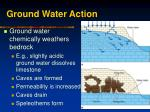 ground water action