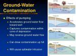 ground water contamination40