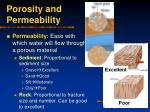 porosity and permeability24