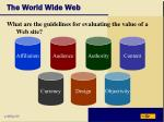 the world wide web36