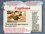 captions