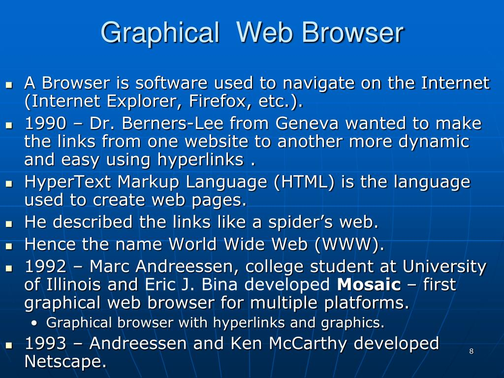Graphical  Web Browser