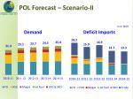 pol forecast scenario ii