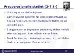 preoperasjonelle stadiet 2 7 r