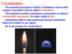 2 combustion