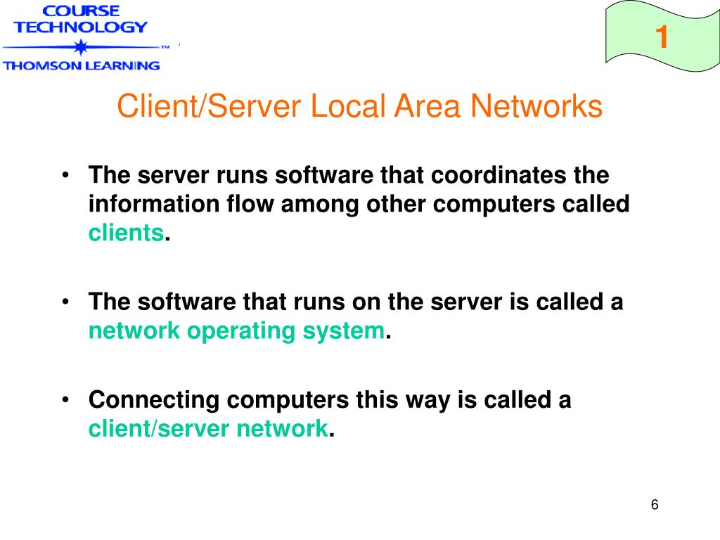 Client/Server Local Area Networks