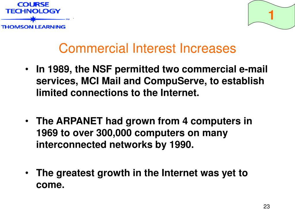 Commercial Interest Increases