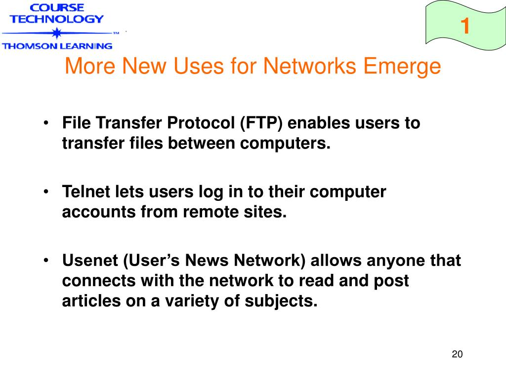 More New Uses for Networks Emerge
