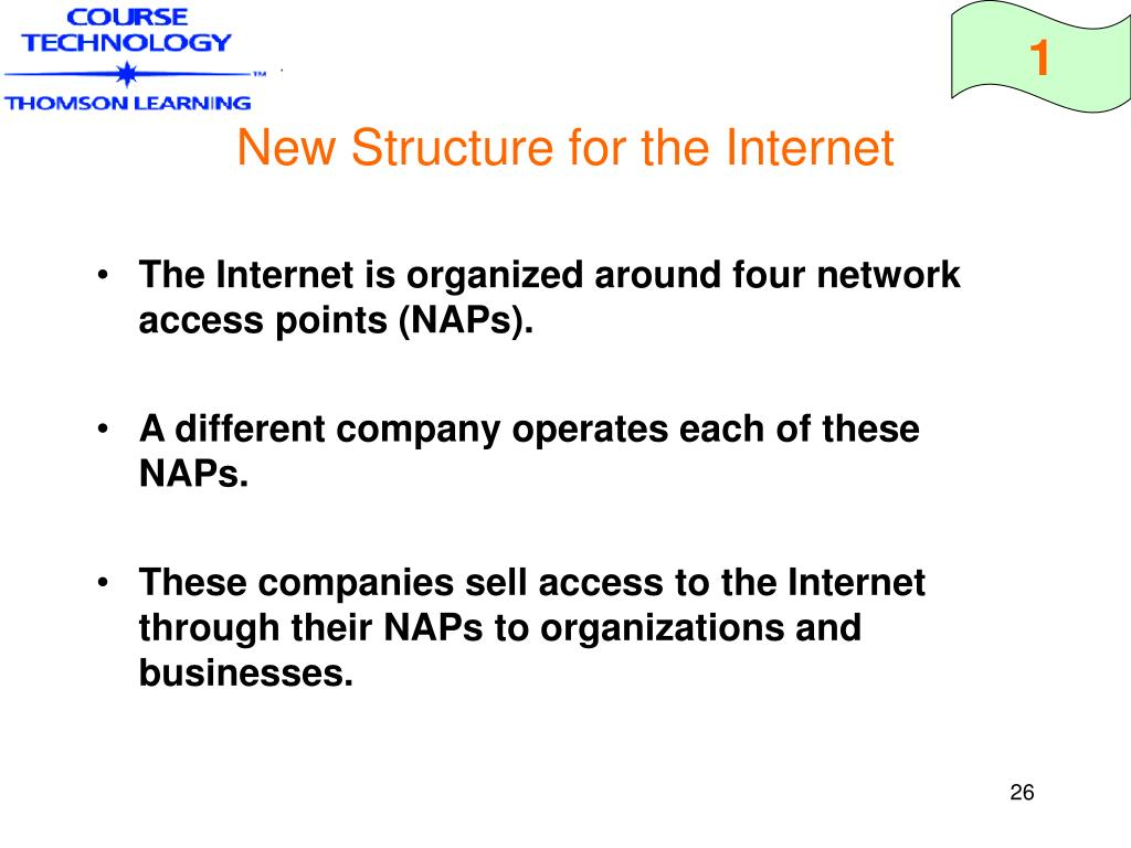 New Structure for the Internet