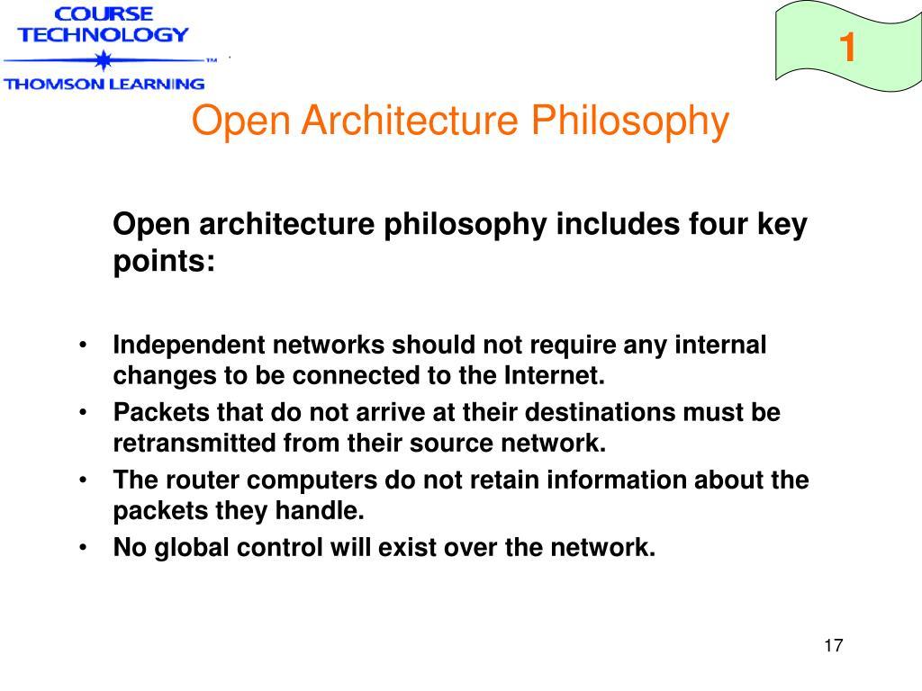 Open Architecture Philosophy