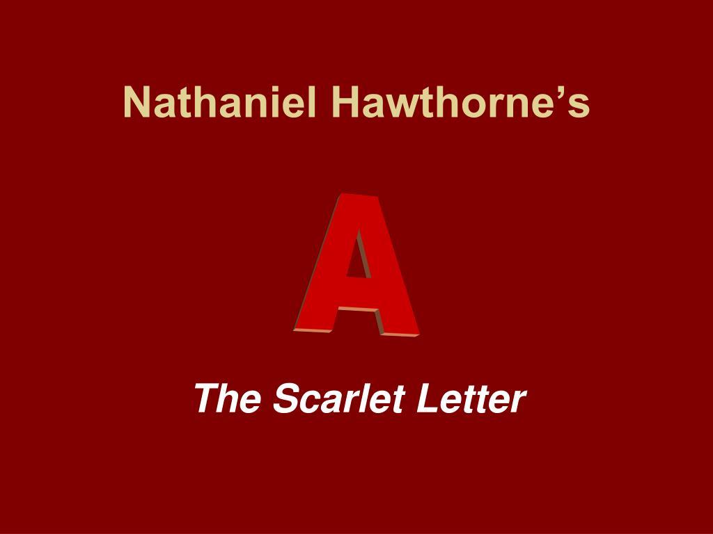 nathaniel hawthorne s l.